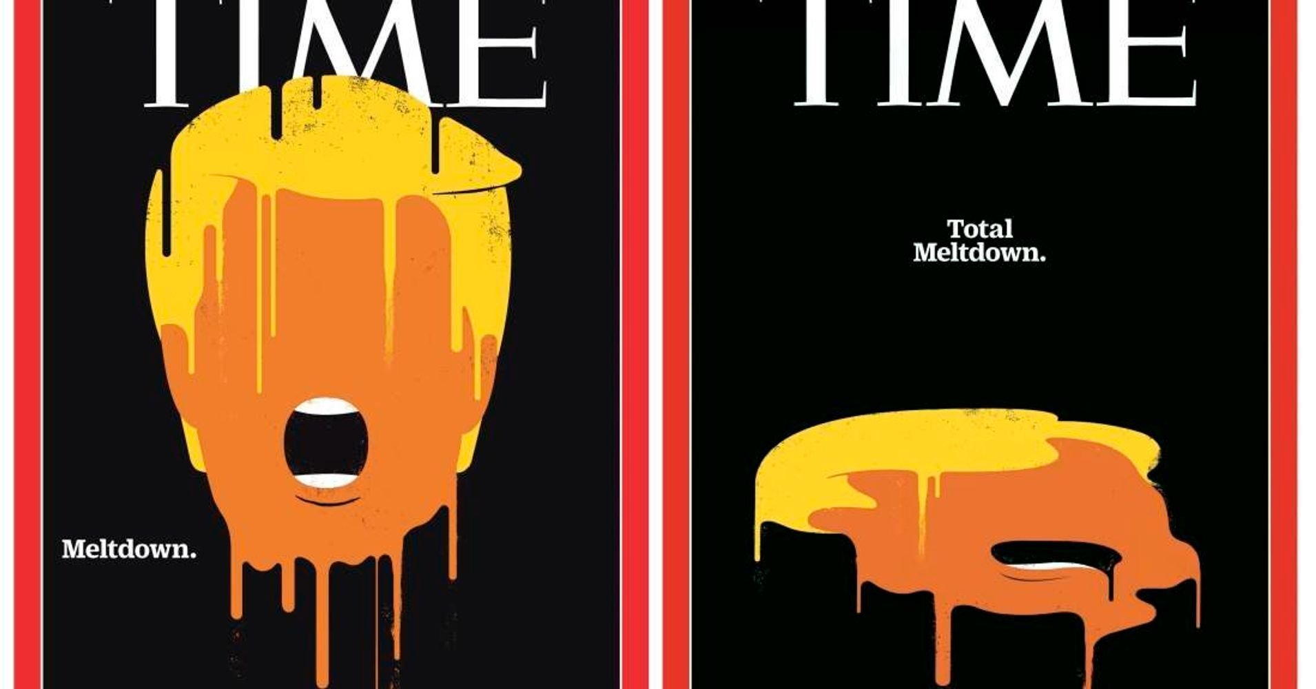 time magazine cover reduces trump to full on goop huffpost. Black Bedroom Furniture Sets. Home Design Ideas