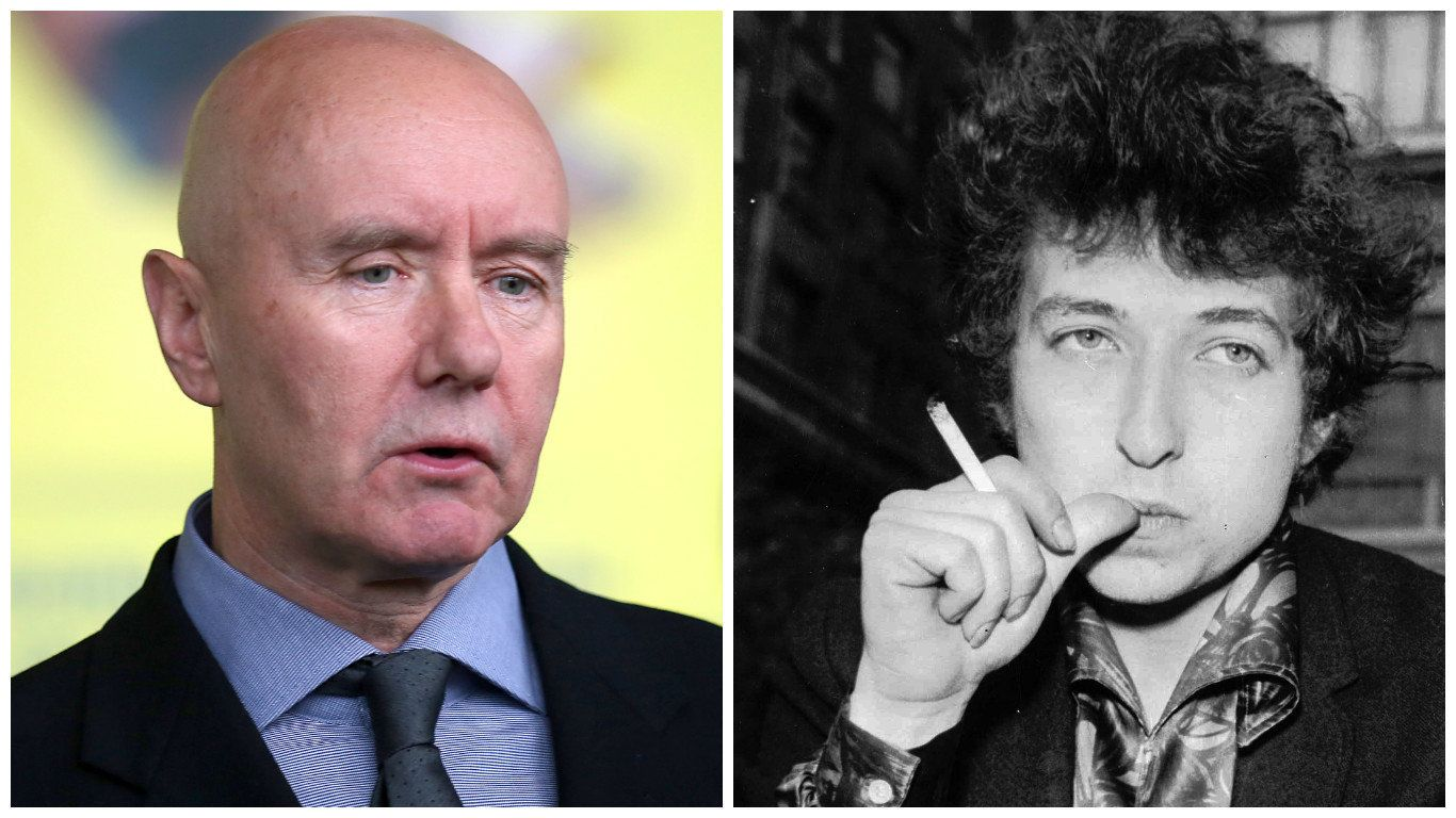Irvine Welsh Thinks Bob Dylan's Nobel Prize Was 'Wrenched From The Prostates Of