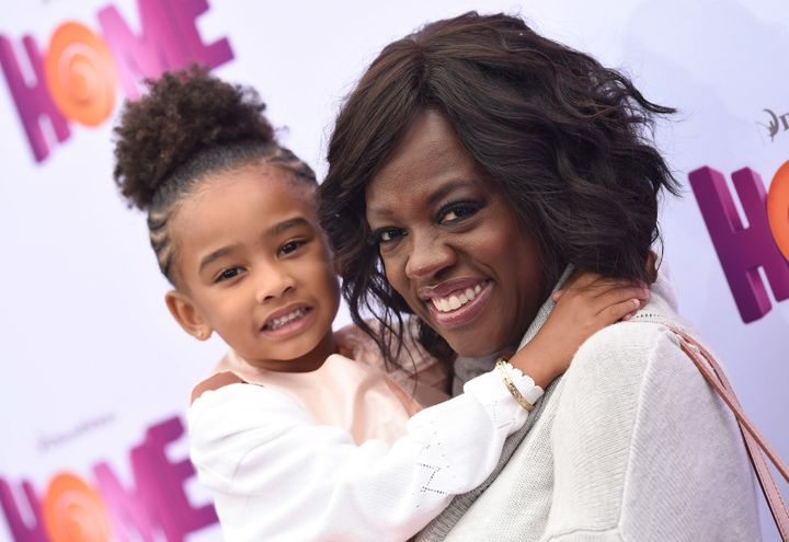 Viola Davis and her daughter Genesis Tennon.