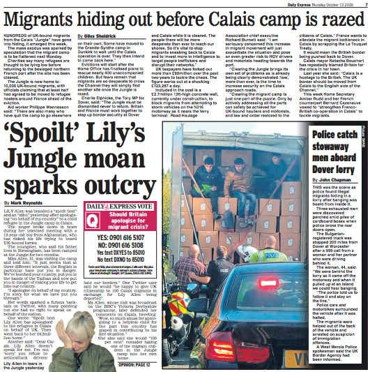 The Daily Express: '