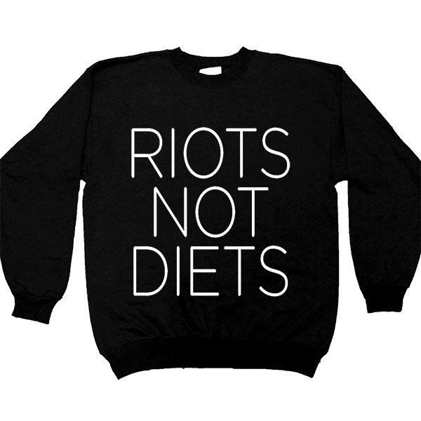 """$44.95 at <a href=""""http://www.feministapparel.com/collections/feminist-womens-sweatshirts/products/feminism-feminist-shirts-f"""