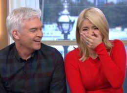 Holly Willoughby Really Lost It During An Interview With  A Clown And 'Batman'