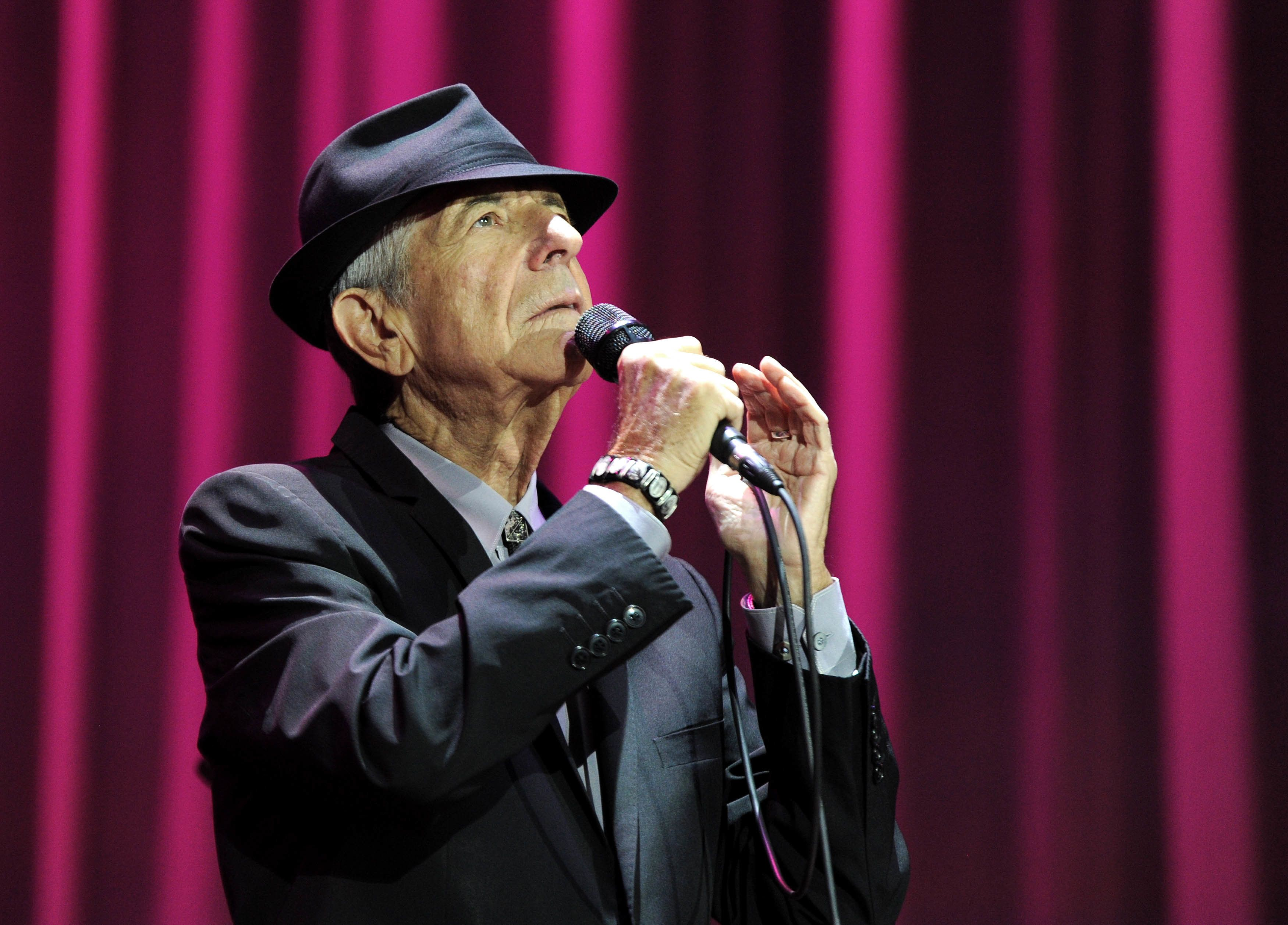 """""""I am ready to die,"""" Leonard Cohen recently told The New Yorker. """"I hope it's not too uncomfortable. That's about"""