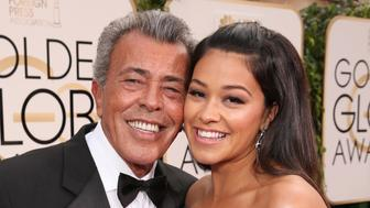 BEVERLY HILLS, CA - JANUARY 10:  Gino Rodriguez and daughter Gina Rodriguez attends the 73rd Annual Golden Globe Awards at The Beverly Hilton Hotel on January 10, 2016 in Beverly Hills, California.  (Photo by Todd Williamson/Getty Images)