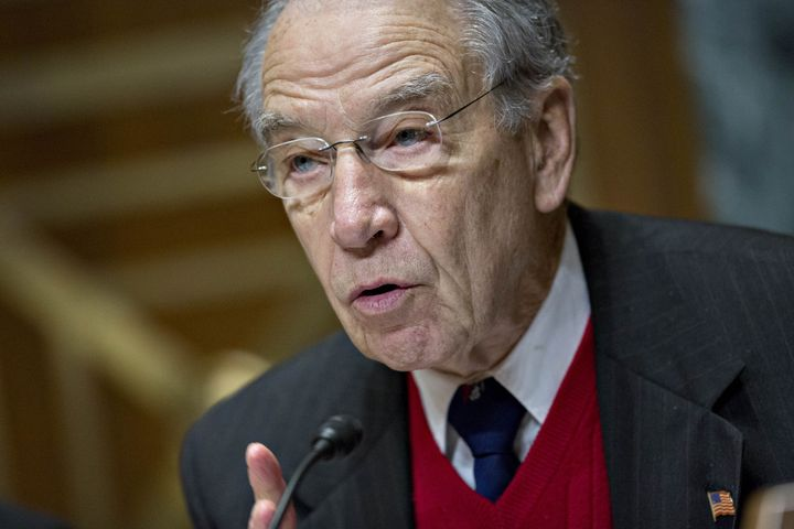Sen. Chuck Grassley pushed the Justice Department's inspector general to look into the FBI's use of countermeasure allegation