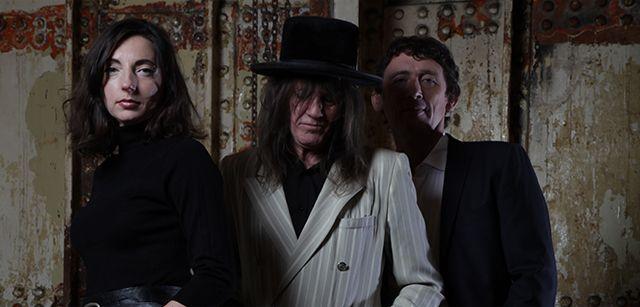 "Three bandmates behind Brit rock group ""Thirsty."""