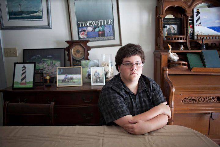 Gavin Grimm sued his school board after it barred him from the boys' bathroom.
