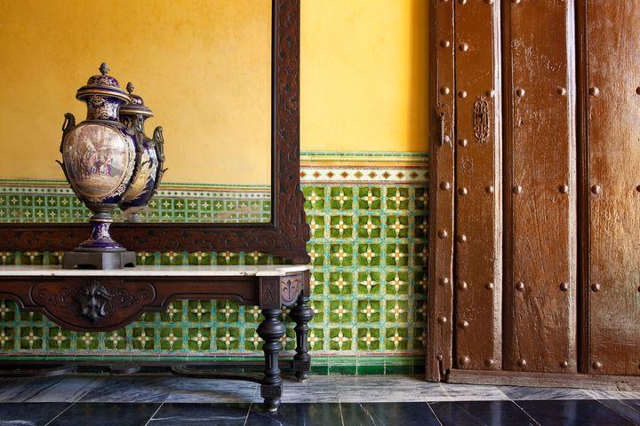 A table in Villa Clara, Santa Clara, Cuba.