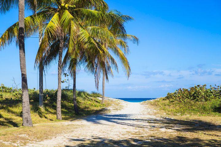 Varadero beach looks absolutely breathtaking.