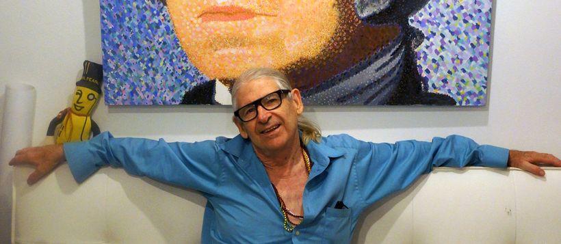Clark Fox in his Manhattan studio