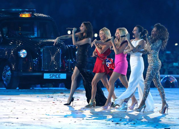 The Spice Girls last performed together at the Olympics in