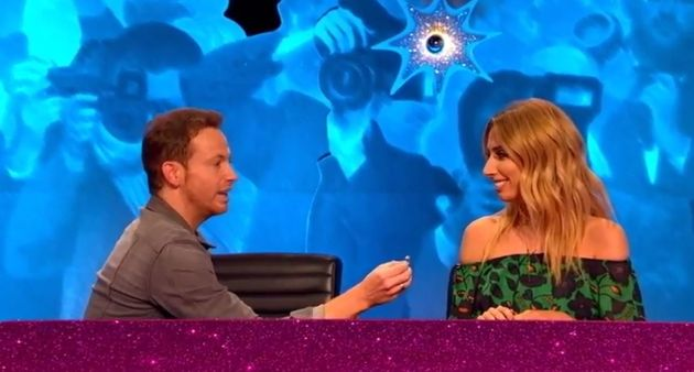 Joe Swash popped the question to Stacey Solomon on 'Celebrity