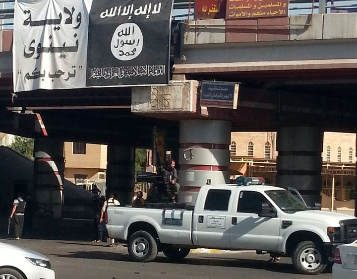 ISIS executed 58 people suspected of taking part in a plot to delivercaliphate's Iraqi capital to government forc