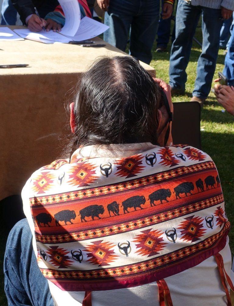 Buffalo Shirt at Treaty Signing