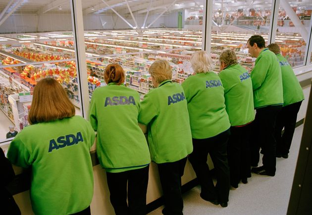 Asda workers look down on staff at theMonks Cross