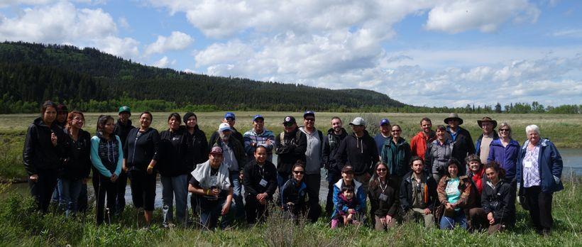 Kainai Field Trip onto Our Timber Limit Study Site
