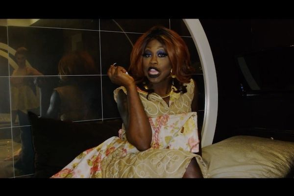 "The inspiring look. Bob The Drag Queen in ""Purse First."""