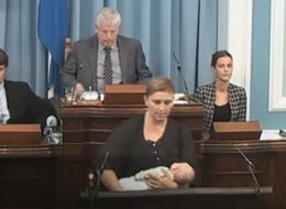 Icelandic Lawmaker Breastfeeds Her Baby Like A Boss While Addressing Parliament