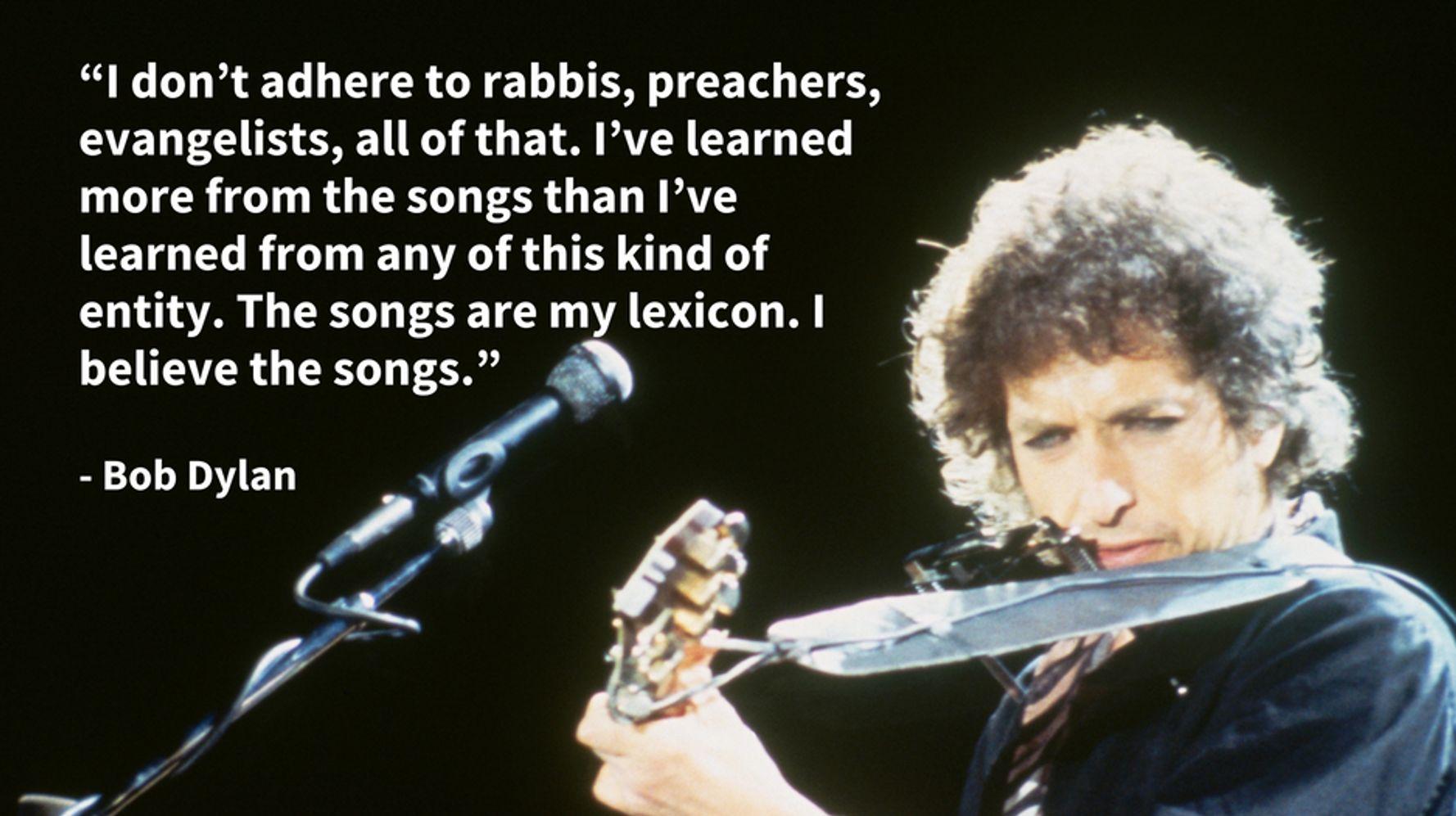12 Times Listening To Bob Dylan's Lyrics Is A Spiritual