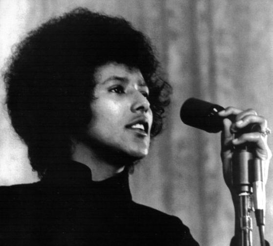 Elaine Brown, the only women to chair the Black Panther