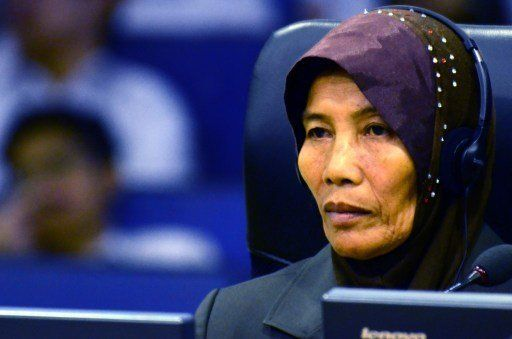 In January, witness Math Sor spoke to the Khmer Rouge tribunal about the treatment of Cham people by the regime. The current