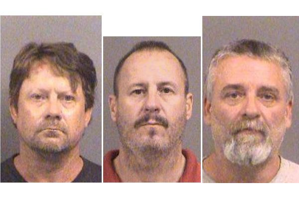 Patrick Stein Curtis Allen and Gavin Wright were arrested for an alleged plot to attack Muslims in Kansas