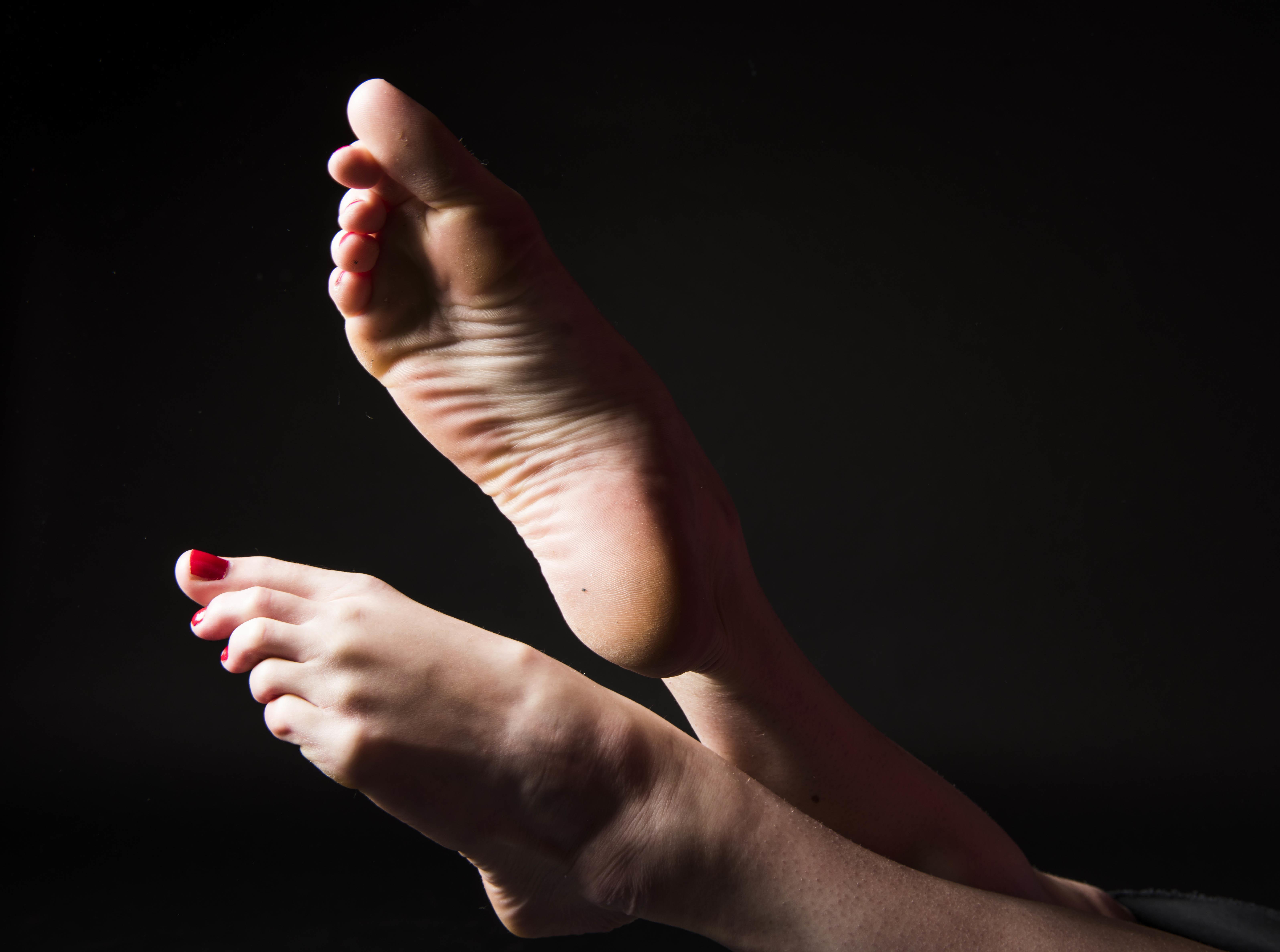 Asian mature feet can