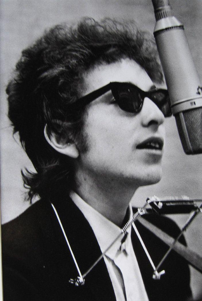 Don Hunstein (United States, b. 1928),Bob Dylan, New York City, January 1965