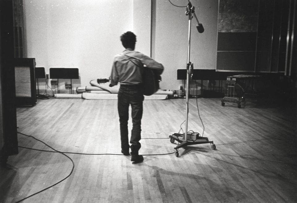 Don Hunstein (United States, b. 1928),Bob Dylan, New York City, August