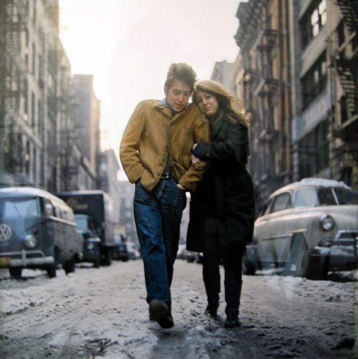 Don Hunstein (United States, b. 1928), Bob Dylan & Suze, New York, 1960
