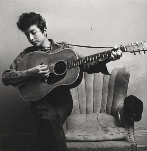 Don Hunstein (United States, b. 1928), Bob Dylan, New York Apartment, February