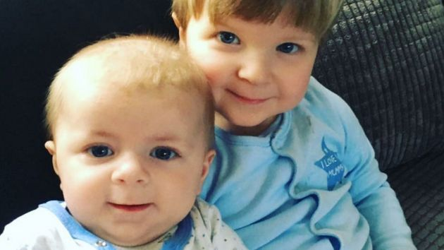 Archie Joe Darby (left) died and his brother Daniel-Jay Darby (right) was taken to hospital after they...