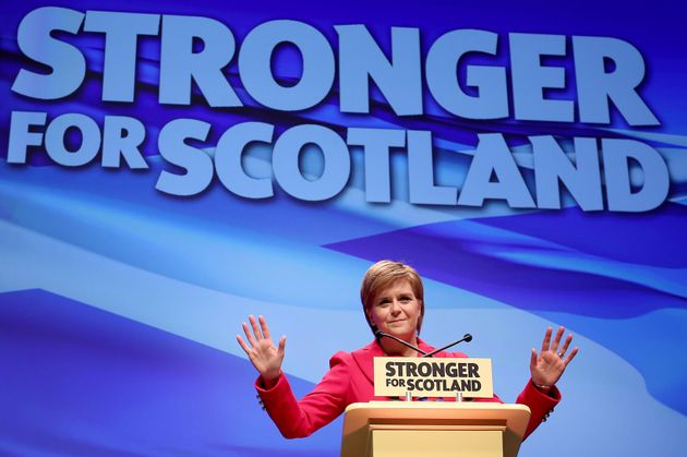 Nicola Sturgeon said the political landscapelooks very different today to how it did in