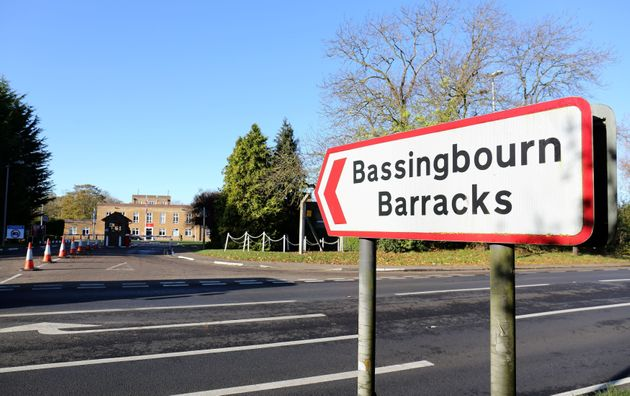 A general view of Bassingbourn Barracks in