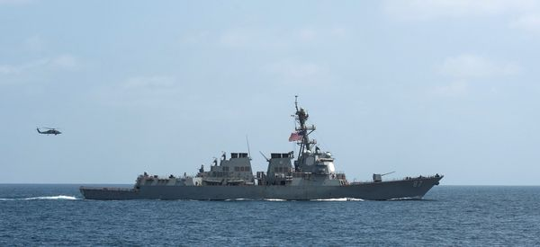 Missiles Fired Again At U.S. Destroyer Off Yemen