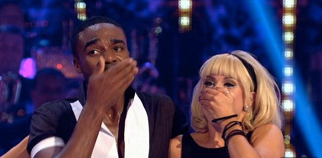 Strictly Come Dancing Ore Oduba Steals First 10 Marks