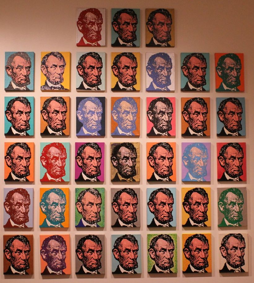 """38 Lincolns"" by Clark Fox"