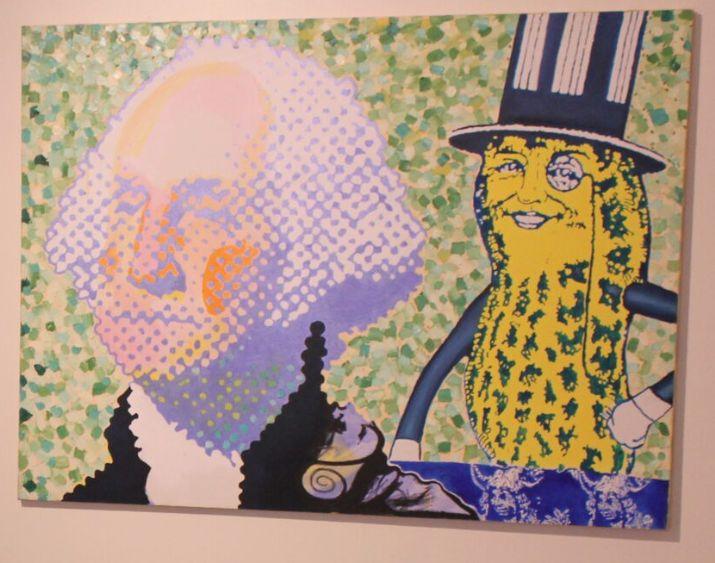 """Mr. Peanut"" by Clark Fox"
