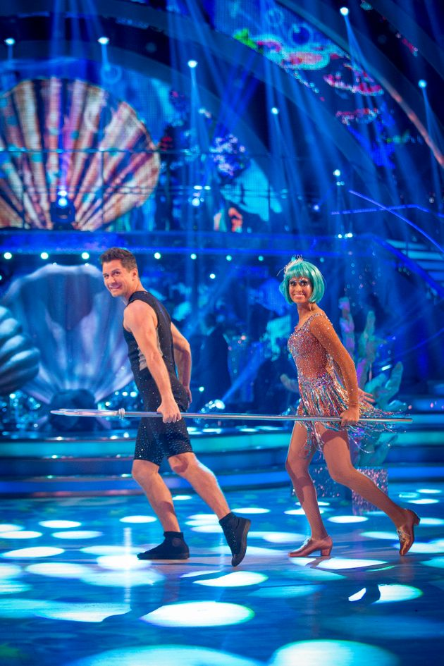 It was Naga and Pasha who had to go home this week after competing in the dance-off against Anastacia...