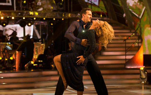 Brendan Cole battled with illness to make it through another week with
