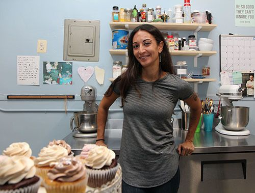 <strong>Anastasia's Aloria Cakes is on Astoria Boulevard.</strong>