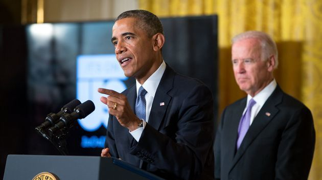 President Obama and Vice President Joe Biden launch the It's On Us campaign in 2014