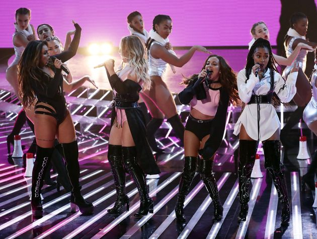 Little Mix and One Republic perform live on X Factor