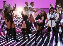Little Mix Make A Triumphant Return To The 'X Factor' Stage
