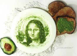 Artist Creates Portraits Of Famous Faces From Avocado