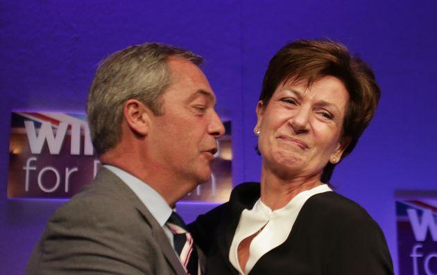 Diane James and Nigel