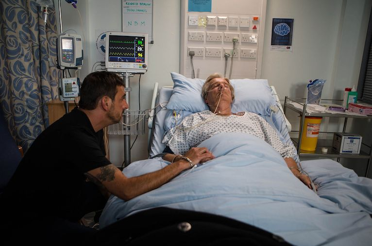 Ken's Life In The Balance In 'Corrie', After Shock Stroke Plot