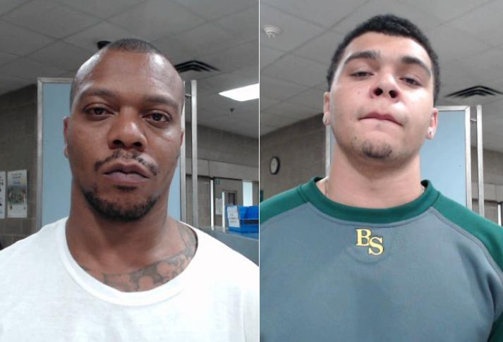 Chazerae M. Taylor, 38, and Dmarkeo C. Taylor, 19, were charged with wanton endangerment Sunday.