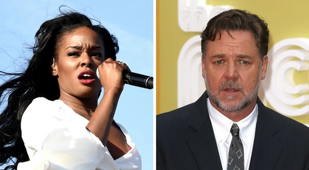 Azealia Banks reportedly threatened Russell Crowe's hotel guests before the actor kicked her out of his