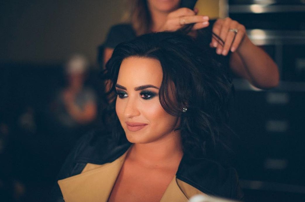Demi Lovato Just Dyed Her Hair Really, Really
